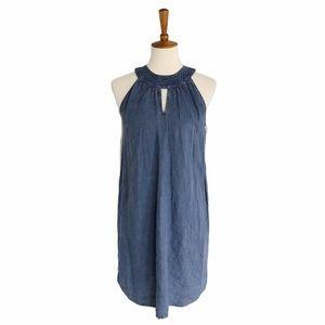 NWT C&C California 100% Linen Shift Dress